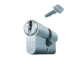 1 cilinderslot met 3 sleutels (verschillend sluitend)
