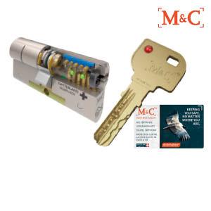 M&C Cilindersloten SKG 2 en SKG 3 sterren