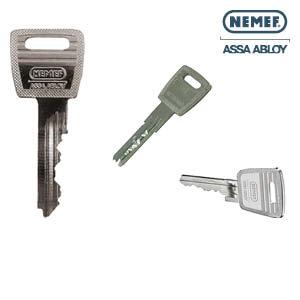 Nemef sleutel namaken of bijbestellen