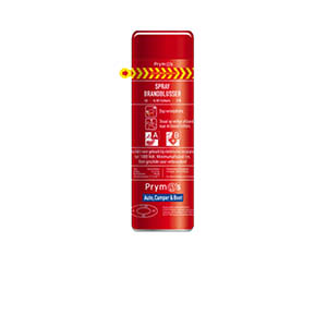 Spray brandblussers