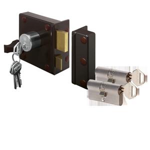Oplegslot ➕ cilinders met dezelfde sleutel