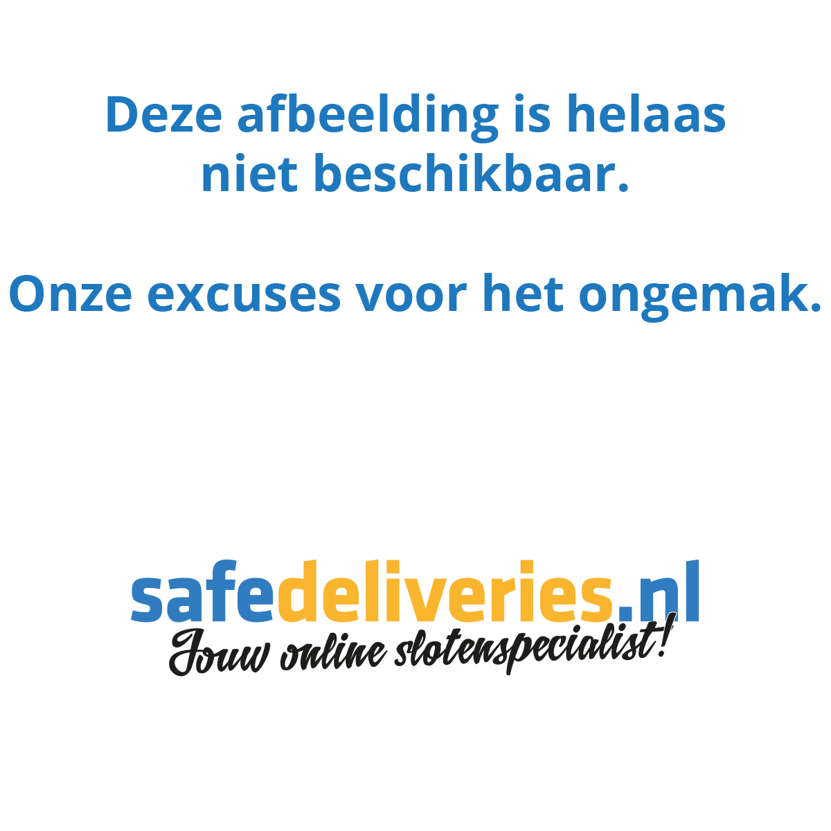 Mauer New Wave cilinderslot | Safedeliveries.nl