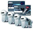 Mauer New Wave cilinderslot | Safedeliveries.nl