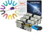 M&C Color PRO 32/32 4 cilinder en 7 sleutels SKG***