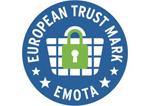 Logo European Trust Mark - Emota - Safedeliveries.nl
